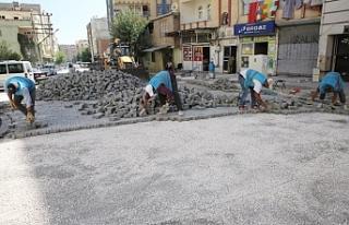 Haliliye'de 2 mahallede üst yapı çalışmaları...