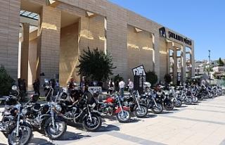Motor tutkunlarından Urfa'da tarihi gezi