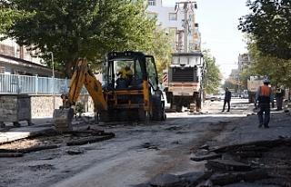 Siverek'te cadde ve sokaklar yenileniyor