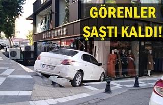 Urfa'da bir garip kaza!