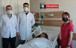 Urfa'da ileri evre dudak kanseri ameliyatı başarıyla...