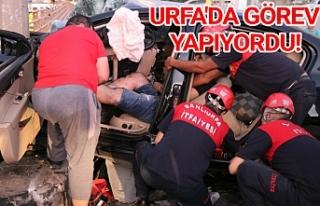 Urfa'da sabah meydana gelen kazada acı haber!