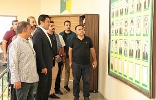 Yıldız, Urfaspor'u tebrik etti