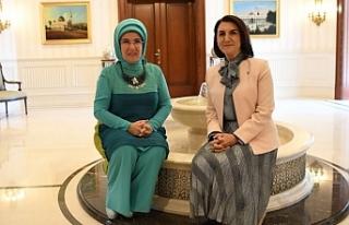 Açanal, Erdoğan ile görüştü