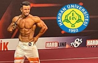 HRÜ'lü öğrenci Türkiye şampiyonu oldu