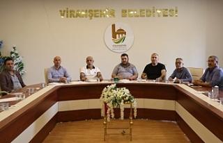 Viranşehir'de yeni sezon öncesi ilk toplantı...