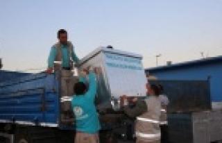 32 Mahallenin çöp konteynırları yenileniyor