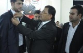 Ahmet Güzel'e güç kattılar!