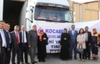 AK Belediyelerden Suriyelilere yardım