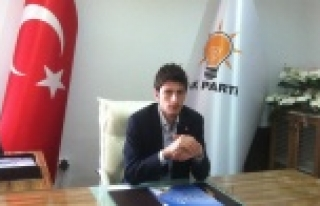 "AK Parti Gençlik Kollarına Flaş Aday "" Ayhan..."