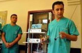 Akşehir Devlet Hastanesi 'ne Pnömotik Litatriptor...
