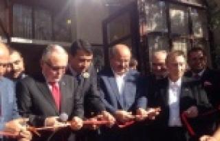 Ankara'da açıldı...