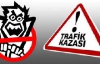 Antep-Urfa yolunda üzücü kaza!