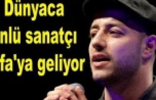 Arap Sanatçı Urfa'da konser verecek