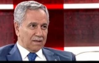 Arınç'tan AK Parti ile ilgili flaş sözler!...