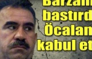 Barzani bastırdı, PKK vazgeçti