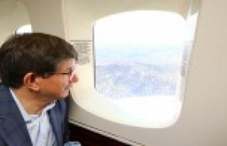 Başbakan'ın uçağı rötar yaptı