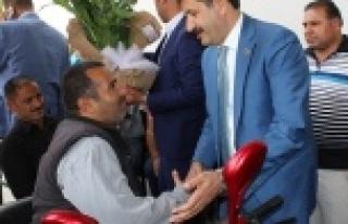 Başkan Ekinci'yi duygulandıran ziyaret