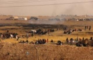 Çatışmalardan kaçan Suriyeliler sınıra dayandı...