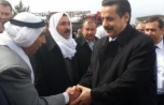 Çelik, Viranşehir'de destek istedi