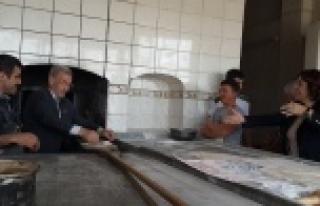 CHP'lilerin ziyaretinde ilginç görüntü!