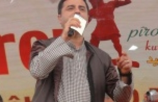 Demirtaş, Urfa'da konuştu