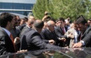 Devlet Bahçeli Urfa'ya geldi