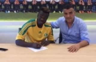 Dodudou Şanlıurfaspor'a imza attı