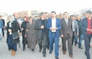 """EKİNCİ, """"MODERN SEMT PAZARLARI YAPACAZ"""""""