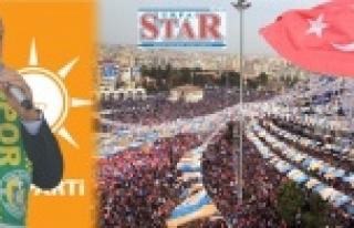 Erdoğan; Sandığın rengi Urfa'da belli olmuştur...