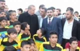 Erdoğan, Suruçlu gençleri kutladı