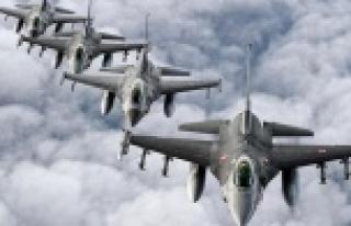 F-16'lar yine havalandı!