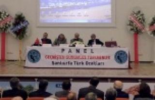 """""""Geçmişten Günümüze Türkmenler"""" paneli yapıldı..."""