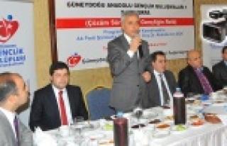 'Gençliğin Rolü' Urfa'da konuşuldu