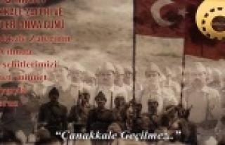 Gökmen, Çanakkale Zaferini kutladı