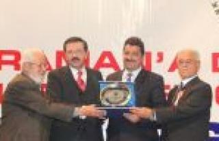 Golda'nın Bölge Ekonomisine Katkısı Ödüllendirildi...