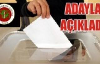 Haliliye Belediye Meclisi üye adayları…