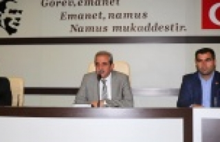 Haliliye Belediyesi Kasım Ayı Meclis toplantıları...