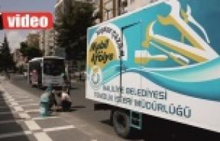 Haliliye'de çöp kutuları yenilendi