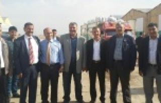 Harran'dan sığınmacılara yardım