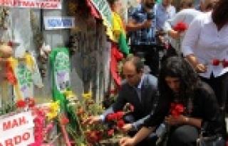 HDP Urfa vekilleri patlama alanında