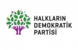 HDP'den operasyon açıklaması
