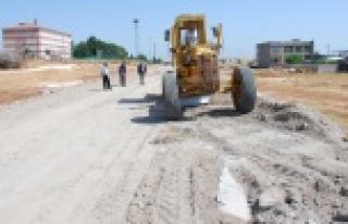 Hilvan'da Yeni Çevre Yolu Çalışmaları Devam Ediyor
