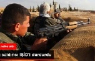 IŞİD geri püskürtüldü