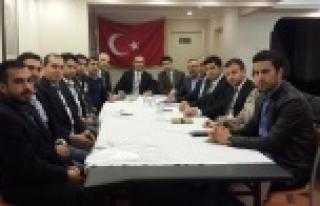 İstanbul Şanlıurfa Derneği'nde görev değişimi...