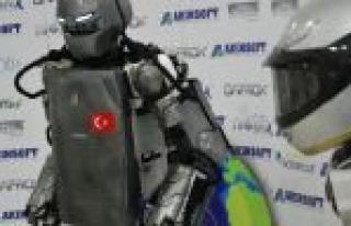 """İşte İnsansı Robot """"akıncı-2"""""""
