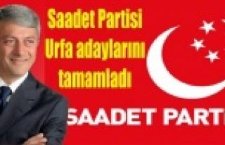 İşte Saadet Partisi'nin Haliliye adayı...