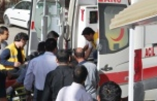 Kaçak sigara taşırken kaza yaptı