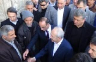 Kılıçdaroğlu işçi ve esnafları ziyaret etti...