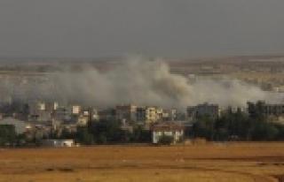 Kobani'de bir patlama daha!